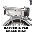 BATTERIE PER GREEN BIKE