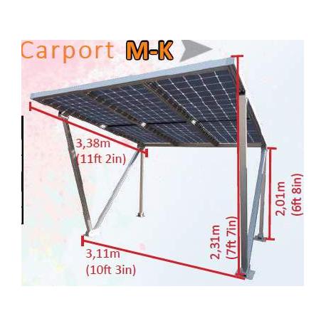 CARPORT - POSTO AUTO MK