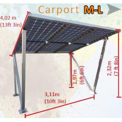 CARPORT - POSTO AUTO ML