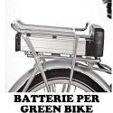 BATTERIE PER GREEN BIKE